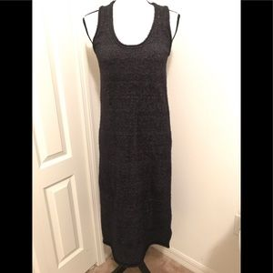 NWT Zara Long Knit Metallic Dress